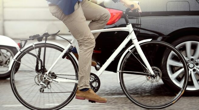 Carro por bicicleta