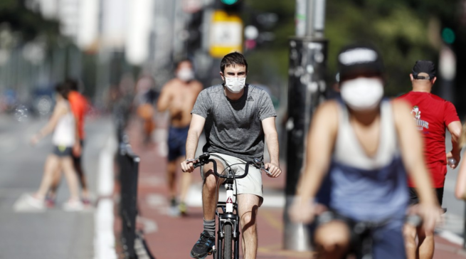 Aumento na pandemia